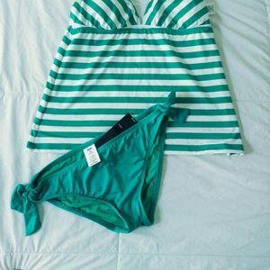 Swim suit bottoms peppermint m Bnt